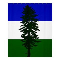 Flag Of Cascadia Shower Curtain 60  X 72  (medium)  by abbeyz71