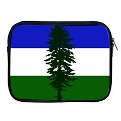 Flag Of Cascadia Apple Ipad 2/3/4 Zipper Cases by abbeyz71