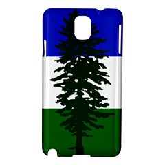 Flag Of Cascadia Samsung Galaxy Note 3 N9005 Hardshell Case by abbeyz71