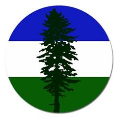 Flag Of Cascadia Magnet 5  (round) by abbeyz71