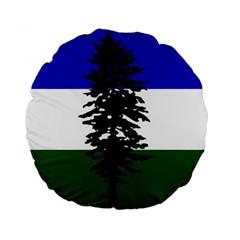 Flag Of Cascadia Standard 15  Premium Flano Round Cushions by abbeyz71
