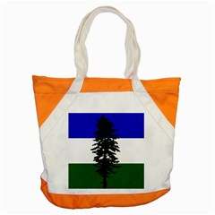 Flag Of Cascadia Accent Tote Bag by abbeyz71