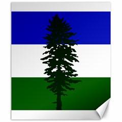 Flag Of Cascadia Canvas 20  X 24   by abbeyz71
