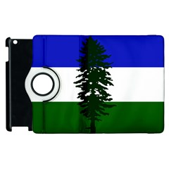 Flag Of Cascadia Apple Ipad 3/4 Flip 360 Case by abbeyz71