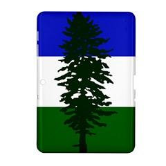 Flag Of Cascadia Samsung Galaxy Tab 2 (10 1 ) P5100 Hardshell Case  by abbeyz71