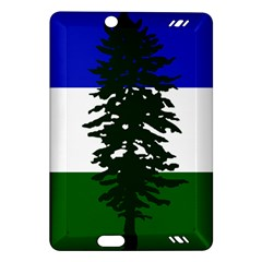 Flag Of Cascadia Amazon Kindle Fire Hd (2013) Hardshell Case by abbeyz71