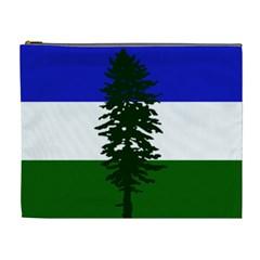 Flag Of Cascadia Cosmetic Bag (xl) by abbeyz71