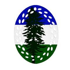 Flag Of Cascadia Ornament (oval Filigree) by abbeyz71