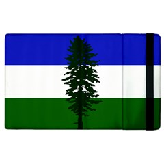 Flag Of Cascadia Apple Ipad 3/4 Flip Case by abbeyz71