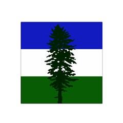 Flag Of Cascadia Satin Bandana Scarf by abbeyz71