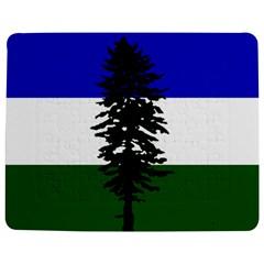 Flag Of Cascadia Jigsaw Puzzle Photo Stand (rectangular) by abbeyz71
