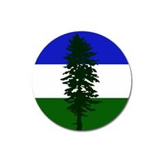Flag Of Cascadia Magnet 3  (round) by abbeyz71