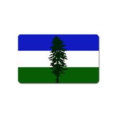 Flag Of Cascadia Magnet (name Card) by abbeyz71