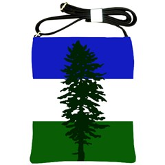 Flag Of Cascadia Shoulder Sling Bags by abbeyz71