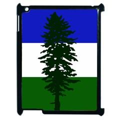 Flag Of Cascadia Apple Ipad 2 Case (black) by abbeyz71