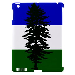 Flag Of Cascadia Apple Ipad 3/4 Hardshell Case (compatible With Smart Cover) by abbeyz71