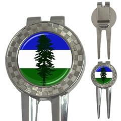 Flag 0f Cascadia 3 In 1 Golf Divots by abbeyz71
