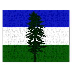 Flag 0f Cascadia Rectangular Jigsaw Puzzl by abbeyz71