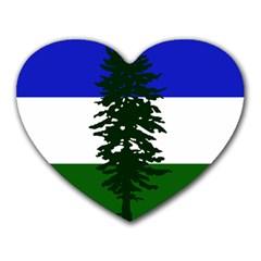 Flag 0f Cascadia Heart Mousepads by abbeyz71