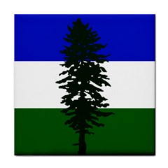 Flag 0f Cascadia Face Towel by abbeyz71