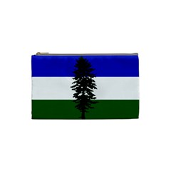 Flag 0f Cascadia Cosmetic Bag (small)  by abbeyz71