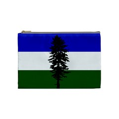 Flag 0f Cascadia Cosmetic Bag (medium)  by abbeyz71