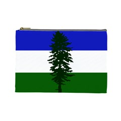 Flag 0f Cascadia Cosmetic Bag (large)  by abbeyz71