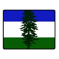 Flag 0f Cascadia Fleece Blanket (small) by abbeyz71