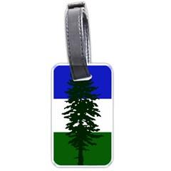 Flag 0f Cascadia Luggage Tags (one Side)  by abbeyz71