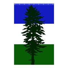 Flag 0f Cascadia Shower Curtain 48  X 72  (small)  by abbeyz71
