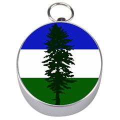 Flag 0f Cascadia Silver Compasses by abbeyz71