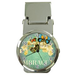 Embrace Shabby Chic Collage Money Clip Watches by 8fugoso