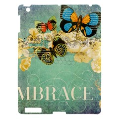 Embrace Shabby Chic Collage Apple Ipad 3/4 Hardshell Case