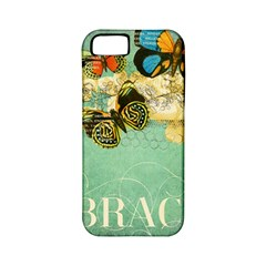 Embrace Shabby Chic Collage Apple Iphone 5 Classic Hardshell Case (pc+silicone) by 8fugoso