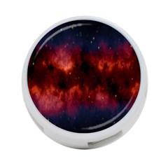 Astronomy Space Galaxy Fog 4 Port Usb Hub (one Side) by Nexatart