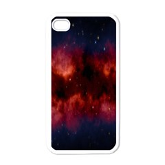 Astronomy Space Galaxy Fog Apple Iphone 4 Case (white) by Nexatart