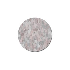 Pattern Mosaic Form Geometric Golf Ball Marker (10 Pack) by Nexatart