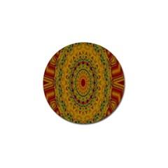 India Mystic Background Ornamental Golf Ball Marker (10 Pack)