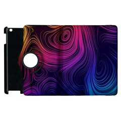 Abstract Pattern Art Wallpaper Apple Ipad 3/4 Flip 360 Case by Nexatart