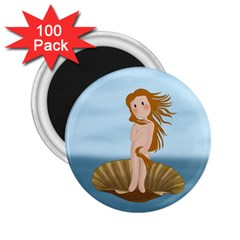 The Birth Of Venus 2 25  Magnets (100 Pack)  by Valentinaart