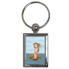 The Birth Of Venus Key Chains (rectangle)  by Valentinaart