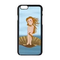 The Birth Of Venus Apple Iphone 6/6s Black Enamel Case by Valentinaart