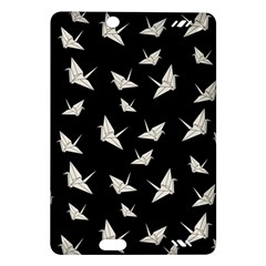 Paper Cranes Pattern Amazon Kindle Fire Hd (2013) Hardshell Case by Valentinaart