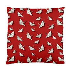 Paper Cranes Pattern Standard Cushion Case (one Side) by Valentinaart