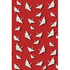 Paper Cranes Pattern 5 5  X 8 5  Notebooks by Valentinaart