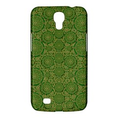 Stars In The Wooden Forest Night In Green Samsung Galaxy Mega 6 3  I9200 Hardshell Case by pepitasart