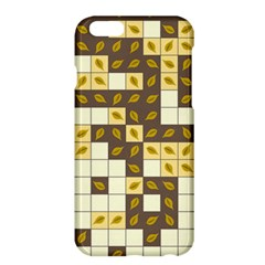 Autumn Leaves Pattern Apple Iphone 6 Plus/6s Plus Hardshell Case by linceazul