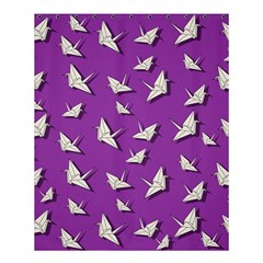 Paper Cranes Pattern Shower Curtain 60  X 72  (medium)  by Valentinaart