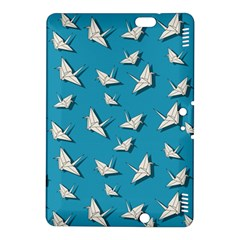 Paper Cranes Pattern Kindle Fire Hdx 8 9  Hardshell Case by Valentinaart