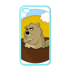 Groundhog Day Apple Iphone 4 Case (color) by Valentinaart